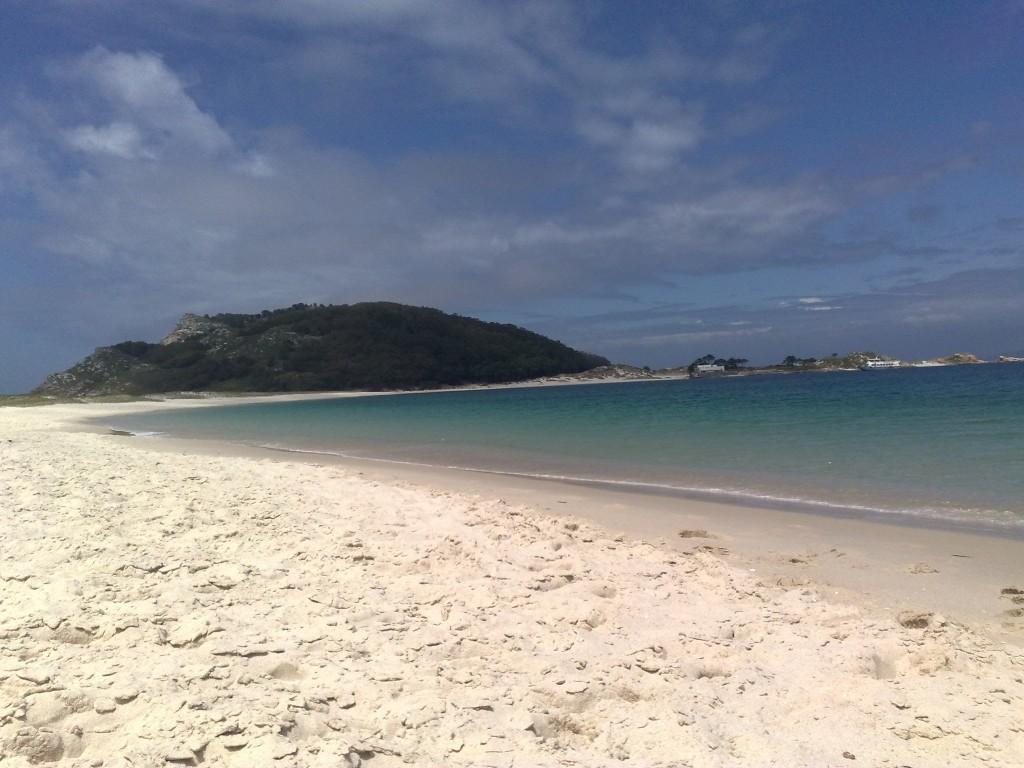 playa idílica