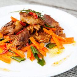 Filetes de pato vegano