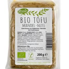 Tofu ecológico con almendras y avellanas / Vantastic Foods