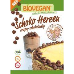 Biovegan / corazones veganos de chocolate para repostería