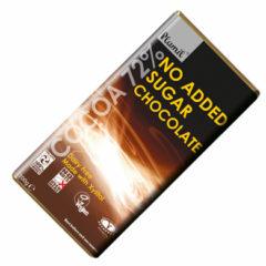 Chocolate vegano sin azúcar de plamil 60% cacao