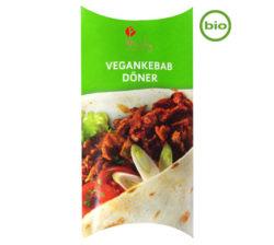 Delicioso kebak 100% vegetal y bio