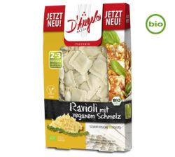 tortellinis veganos y ecológico rellenos de fundido 250 g
