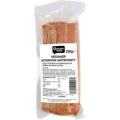 Bacon vegano en lonchas