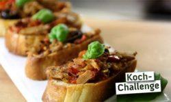 Pinchos de kebab vegano de wheaty