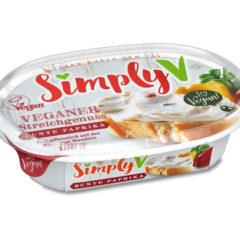 crema vegana fresca para untar de almendras con pimiento simply