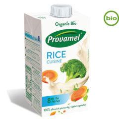 Sustituto vegano de la nata para cocinar de arroz