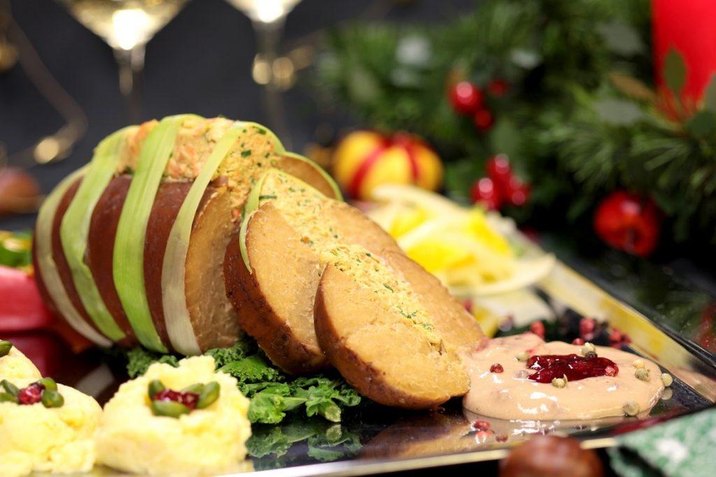 Asado vegano festivo de wheaty