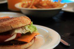 hamburguesa vegana deluxe