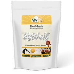 Sustituto vegano y ecológico de la clara del huevo correspondiente a 200 claras