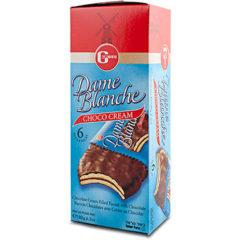 Galletas veganas bañadas y rellenas de chocolate Dame Blanche