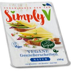 Sustituto del queso en lonchas de almendras simply