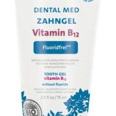 Pasta de dientes natural con vitamina B12 sin fluor de SANTE