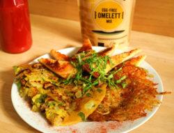 omelet con Terra Vegane
