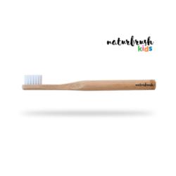 cepillo de dientes para niños de naturbrush natural