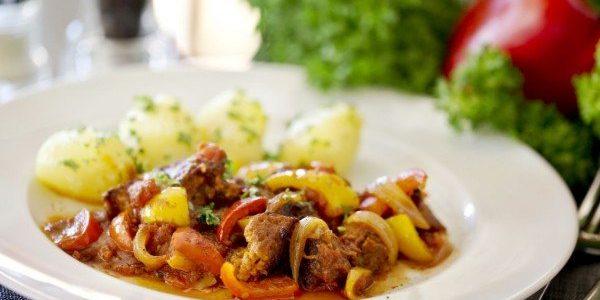 receta de goulash vegano