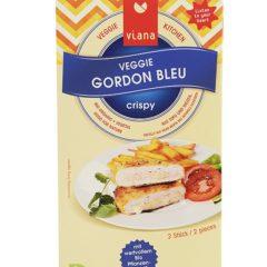 Cordon bleu vegano, san jacobo vegano. Filete vegano empanado relleno de queso y jamón veganos