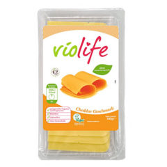 Alternativa vegana de Violife al queso cheddar