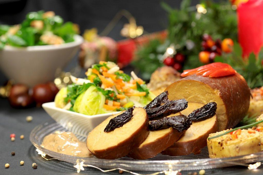 receta festiva de asado vegano