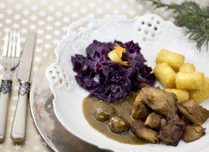 Receta de pato vegano con lombarda