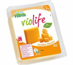 Sustituto vegano del queso cheddar en bloque
