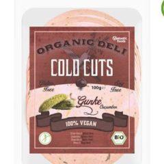Embutido vegano con pepinillo de Vantastic Foods