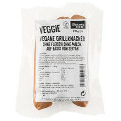 Salchichas veganas rellenas de fundido Vantastic Foods