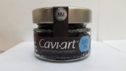 caviar vegano estilo clásico