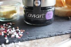 caviar vegano estilo trufa