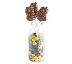 Conejos de Chocolate en Piruletas original