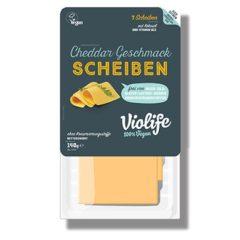 Violife en Lonchas sabor Cheddar