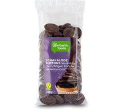 Botones de Chocolate Vegano