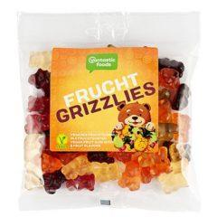 Osos grizzlies de frutas