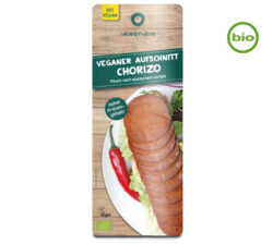 chorizo vegano ecológico en lonchas de veggyness