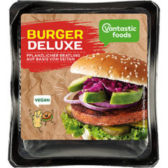 Hamburguesa Vegana Deluxe Vantastic Foods