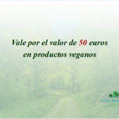 tarjeta vale regalo por 50 euros