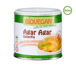 agar agar biovegan sustituto vegetal de la gelatina