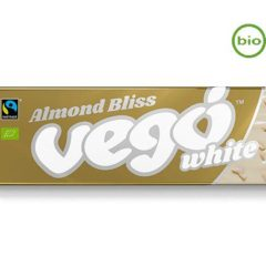 VEGO Bio Chocolate Blanco con Almendras