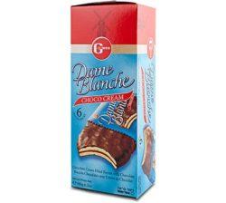 Galletas Bañadas y Rellenas de Chocolate 180 grs.