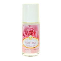 desodorante vegano y ecológico de esencia de rosas