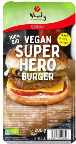 Burger Superhero Bio 200g