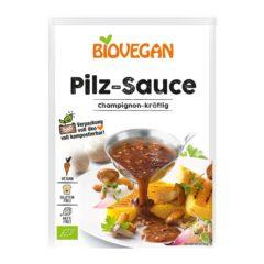 salsa vegana de setas biovegan