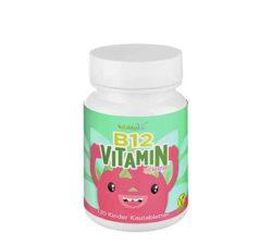Pastillas veganas de vitamina B12 para niños