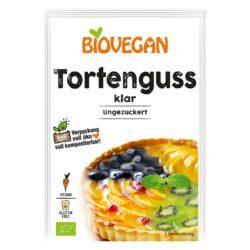 Glaseado para tartas transparente vegano tortenguss vegano de biovegan