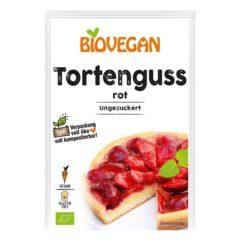 glaseado vegano para tartas rojo Tortenguss de Biovegan