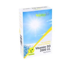 suplemento vitamínico vegano de vitamina D3