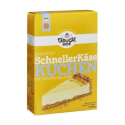 Preparado para hacer tarta de queso vegana y sin gluten